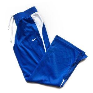 Nike Dri Fit Track Pants ∙ Wide Leg / Zip Leg